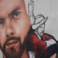 Efraín Ruales ya tiene un mural en Guayaquil: artistas piden justicia