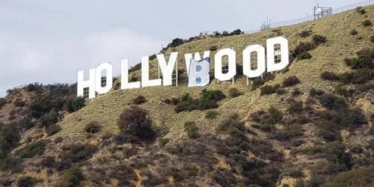 De Hollywood a Hollyboob: ¿por qué esta influencer cambió el famoso letrero?