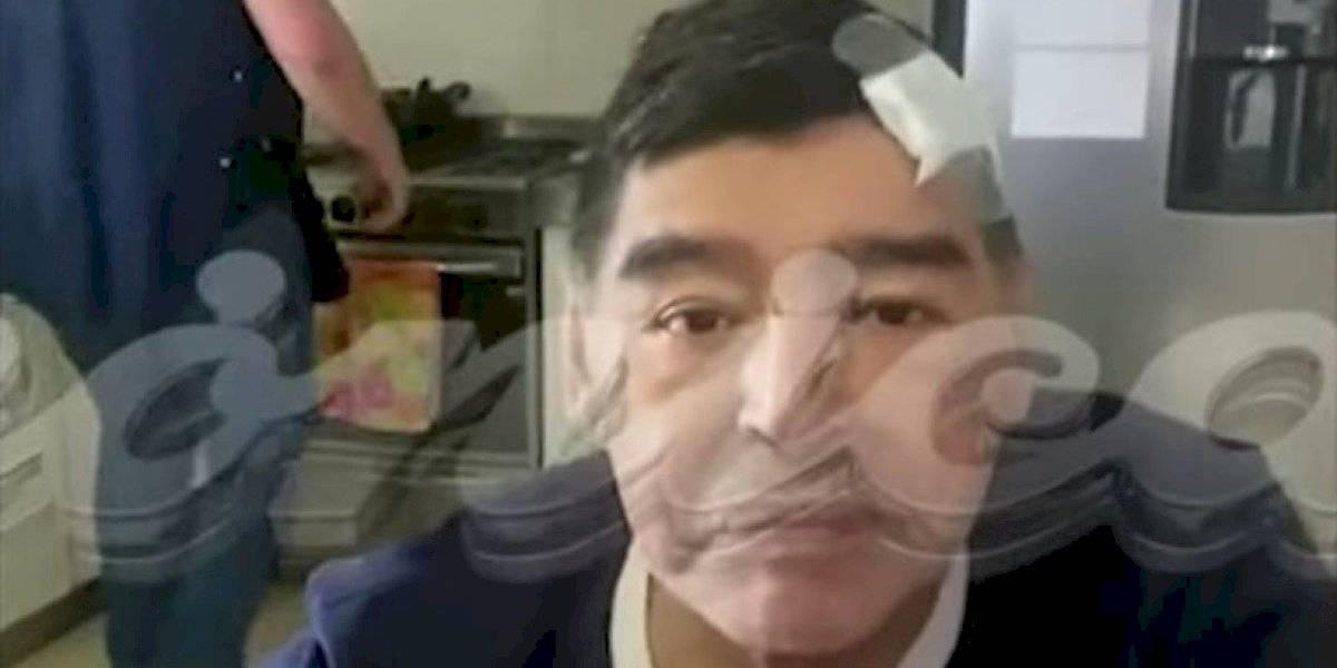 """Revelan el último video de Diego Maradona con vida: """"Estoy abollado"""""""