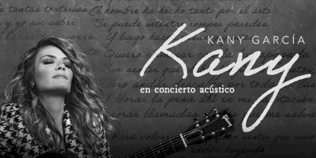 Kany García sorprende a fanáticos al anunciar concierto acústico virtual