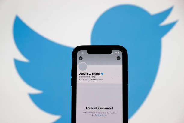 Trump fue silenciado por las redes sociales tras los hechos de violencia del 6 de enero en Estados Unidos.