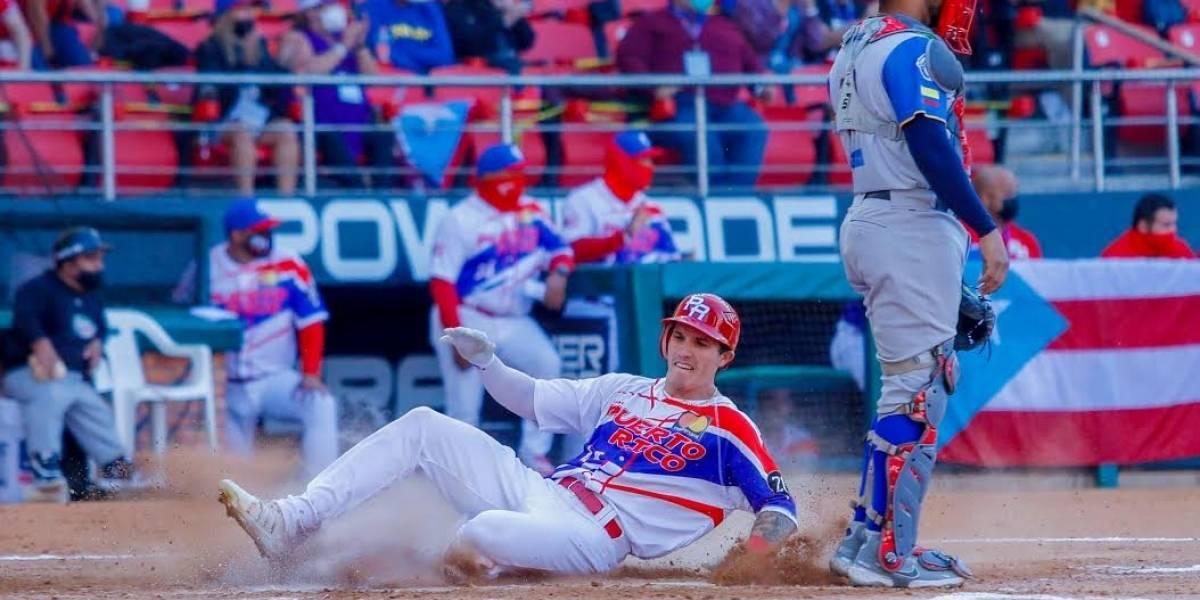 Puerto Rico pasa a semifinal en la Serie del Caribe tras vencer a Colombia