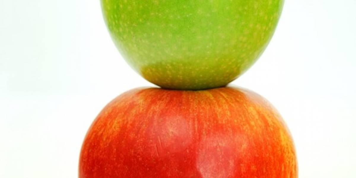 Ciencia: esta es la verdadera diferencia entre las manzanas verdes y rojas