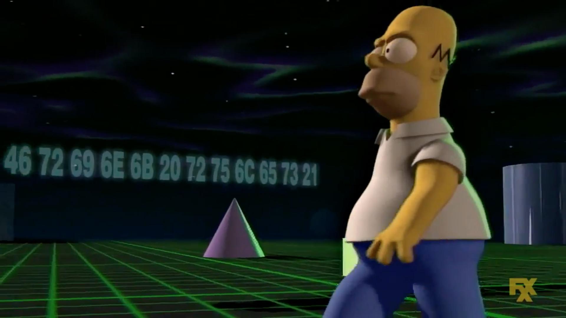 Los Simpson secretos 3D