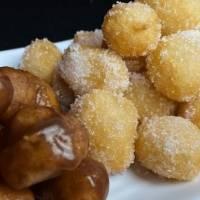 Mini donuts: feito em 1 minuto e só 2 ingredientes!