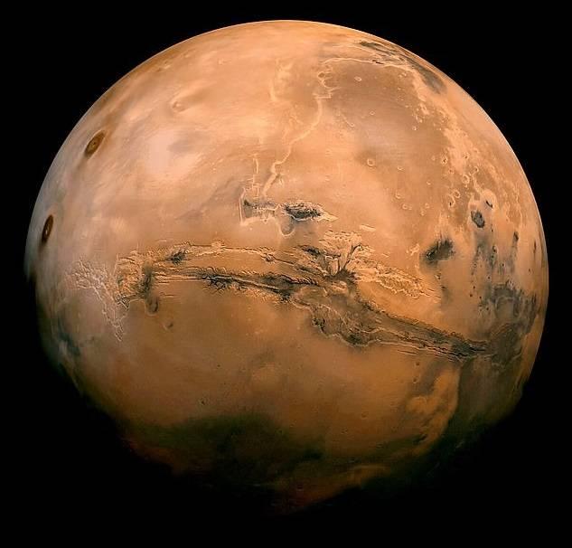 Marte líneas