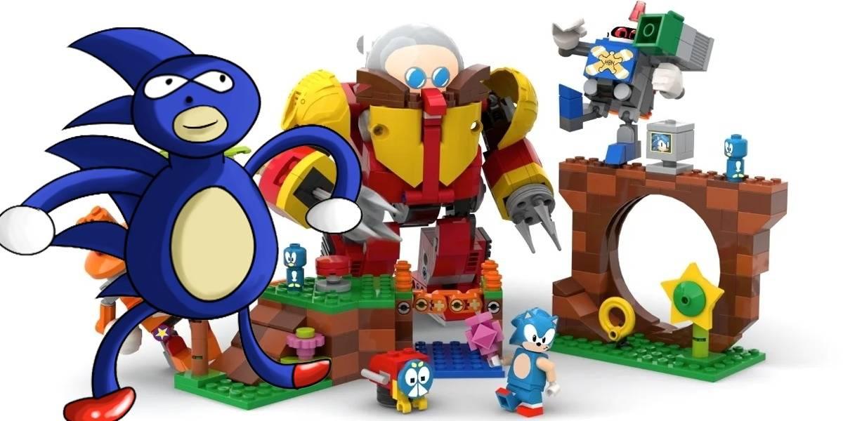 LEGO nos da justo en la nostalgia con su set oficial de Sonic The Hedgehog
