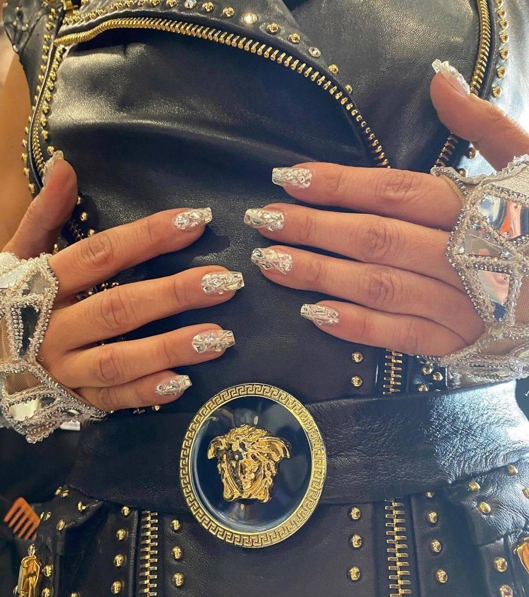 diseños de uñas jennifer lopez