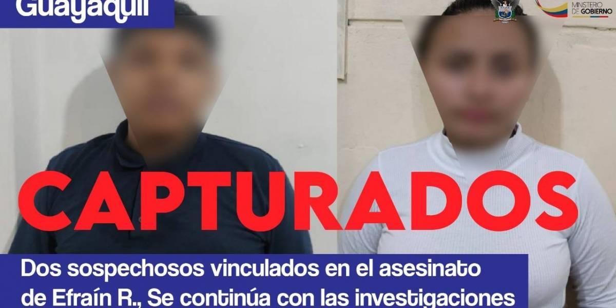 Ministro de Gobierno se refirió a la edad de dos sospechosos vinculados en asesinato de Efraín Ruales
