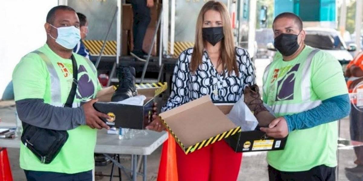 Alcaldesa de Canóvanas entrega de equipos de seguridad a empleados municipales
