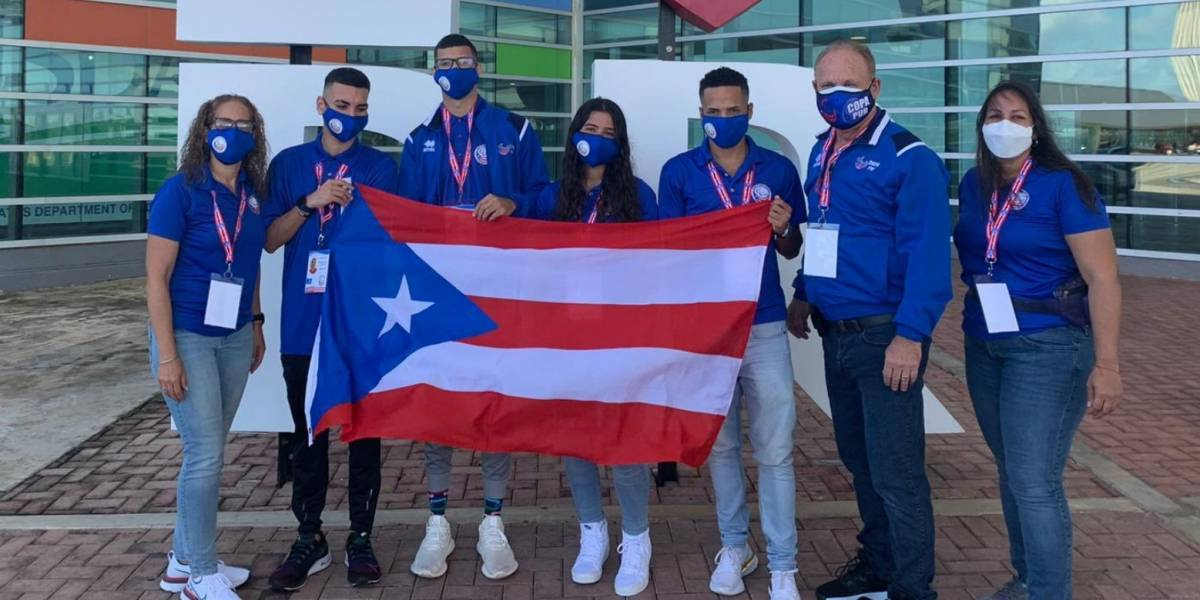 Delegación puertorriqueña parte hacia el Dubai Grand Prix World Para Athletic
