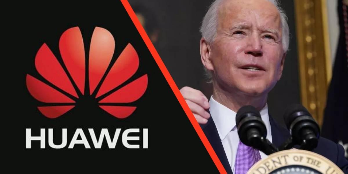 Huawei: parece que administración de Biden no eliminará el veto a la marca china