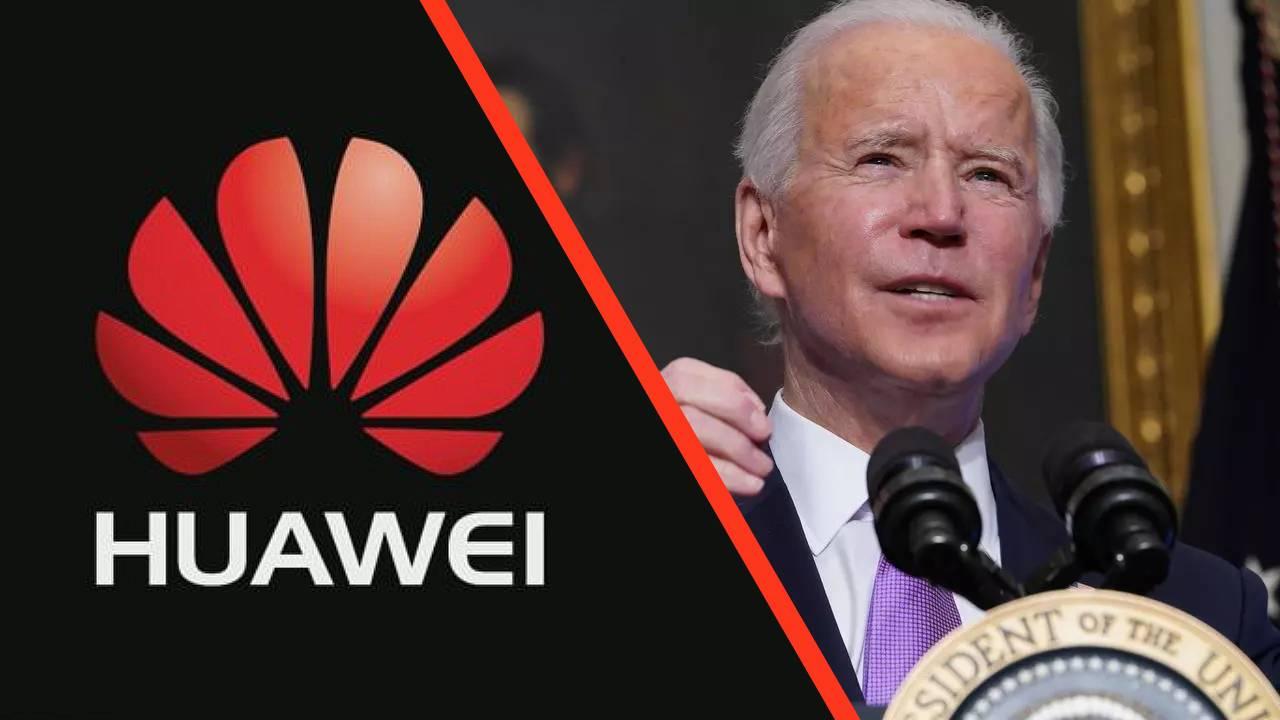 Huawei Joe Biden