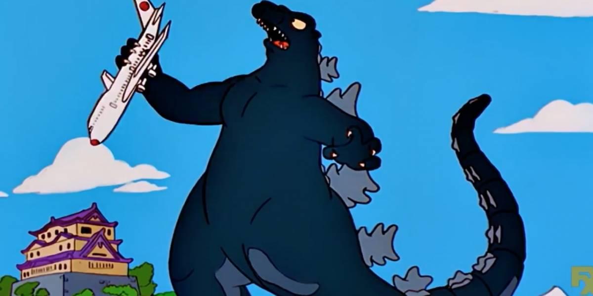 Los Simpson: Godzilla y otros Kaiju son canon dentro de la serie