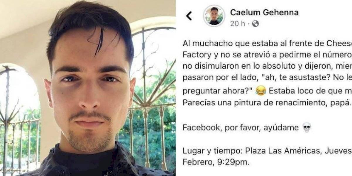 Joven recurre a Facebook para buscar admirador, ahora hasta Ednita Nazario quiere conocerlos