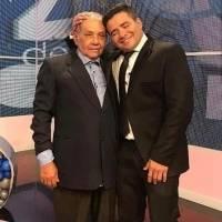 Falleció el padre del presentador de televisión, Henry Bustamante