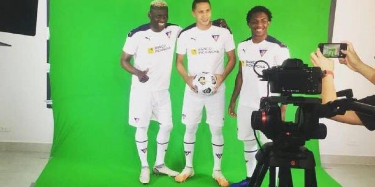 Liga de Quito tomará medidas por la filtración de su camiseta para el 2021