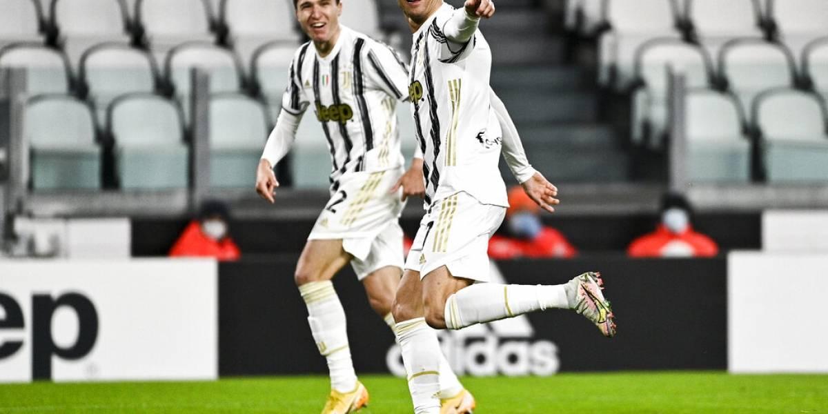Cristiano Ronaldo celebra cumpleaños con victoria de la Juventus