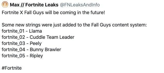 Fall Guys Among Us Fortnite