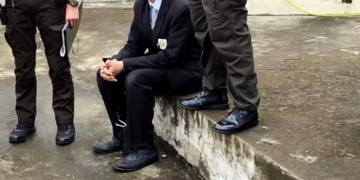 Portoviejo: Detienen a un hombre que llevaba varias papeletas dentro de una carpeta