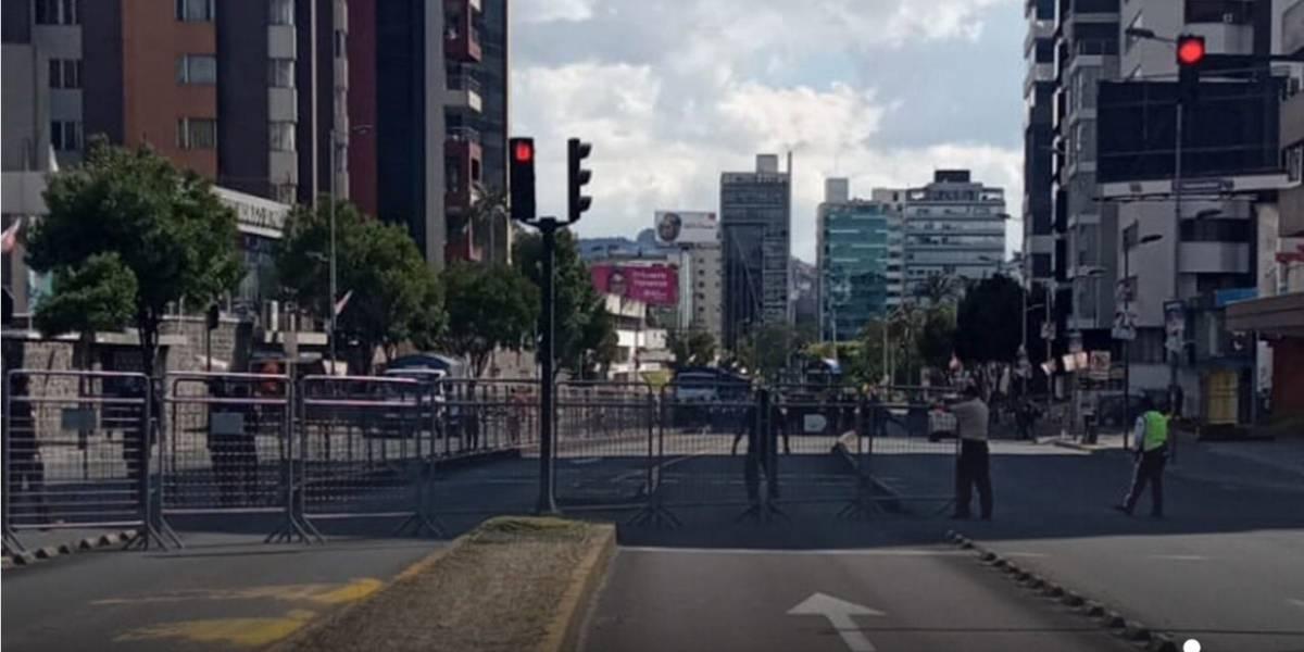 Se suspende la parada Bellavista de la Ecovía por cierre de la Av. 6 de Diciembre, en exteriores del CNE