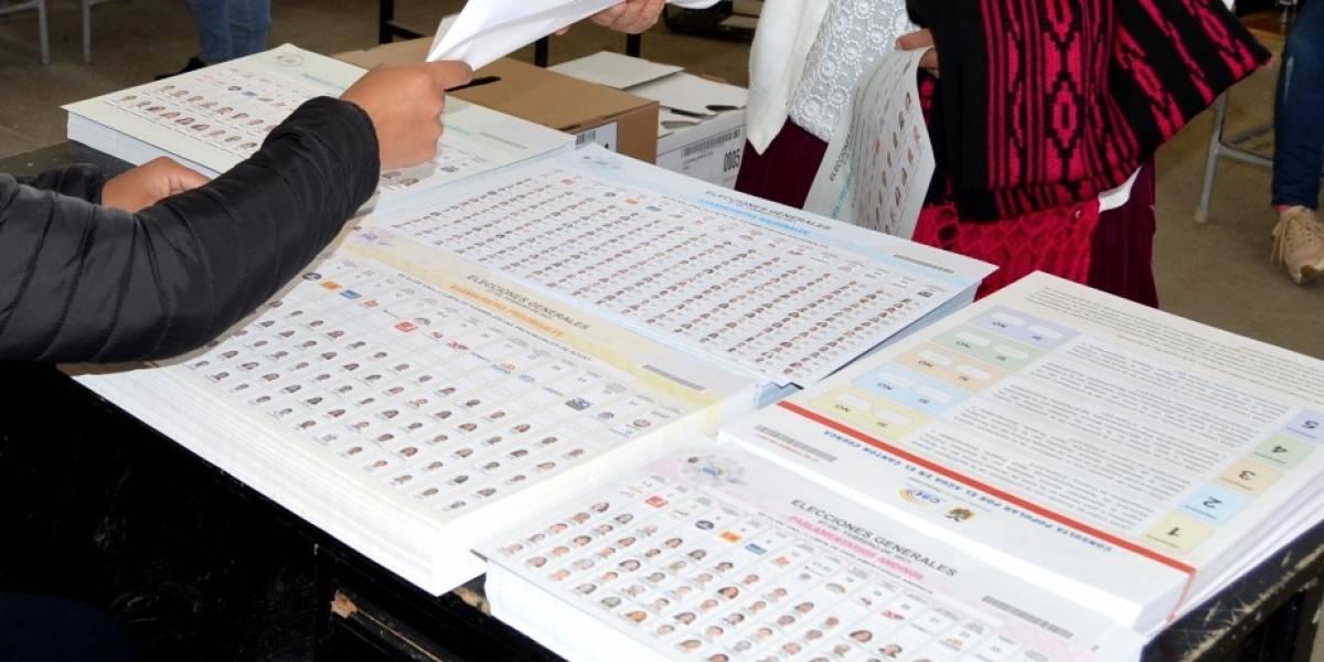 Elecciones 2021: Ciudadana denuncia que le entregaron una papeleta presidencial rayada a favor de un candidato
