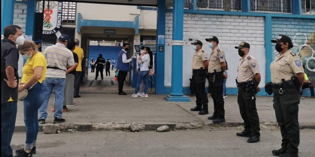 Más de 1.000 detenidos por diversos delitos durante la jornada electoral