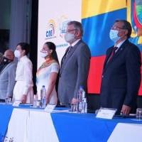 CNE inaugura jornada de Elecciones 2021
