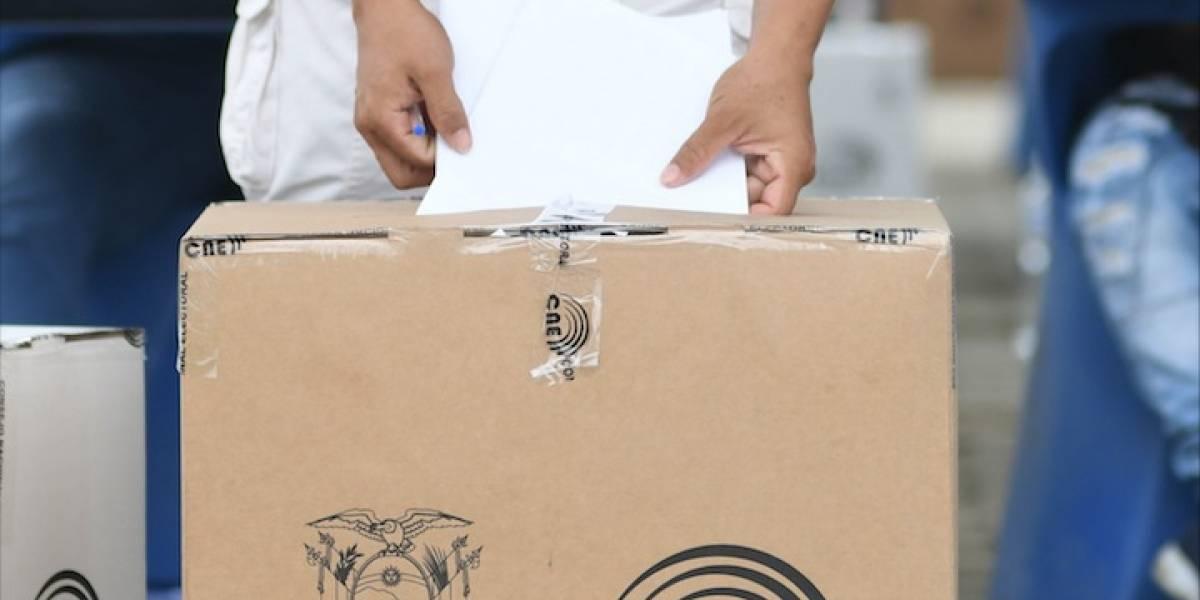 CNE dice que el 62,34% de electores ya sufragó