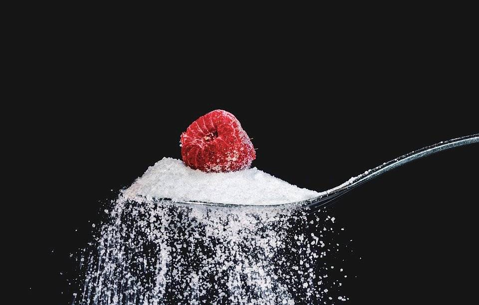 Azúcar y frambuesa