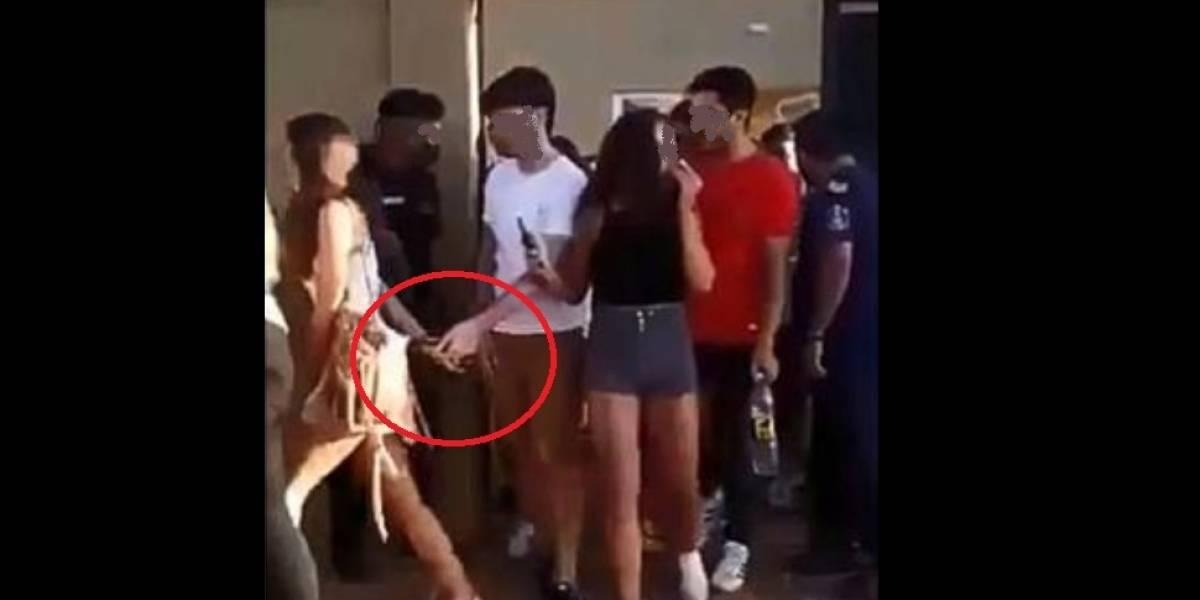 Jovem descobre traição ao ver namorada com outro em vídeo viral de festa clandestina; veja