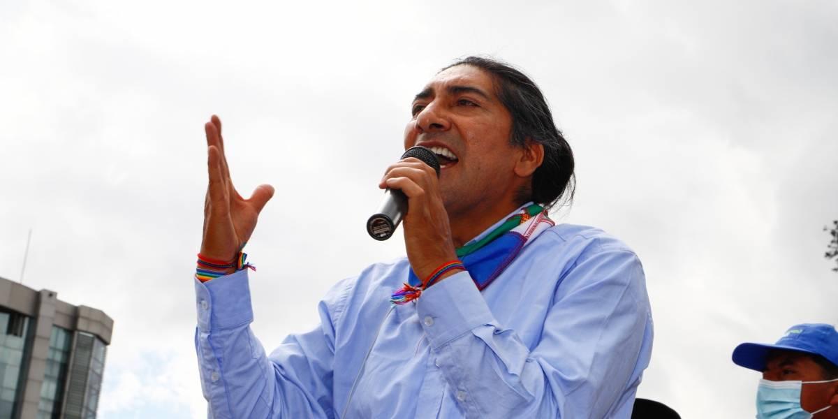 Yaku Pérez se pronuncia sobre las inconsistencias: el CNE respondió