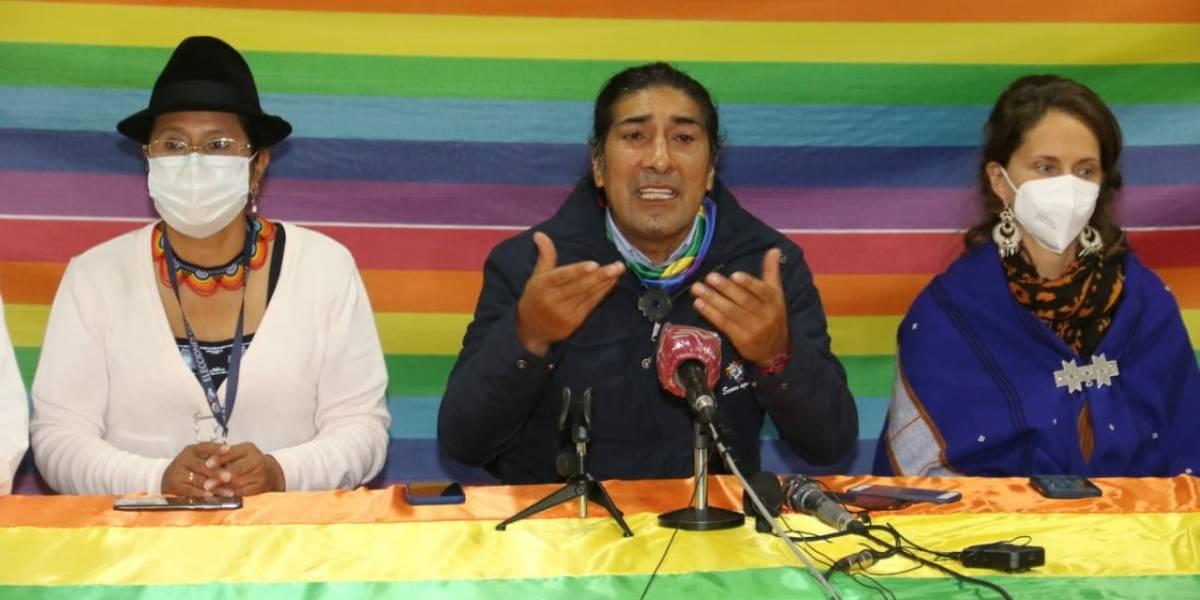 Yaku Pérez se pronuncia tras resultados del conteo rápido: convoca a vigilia
