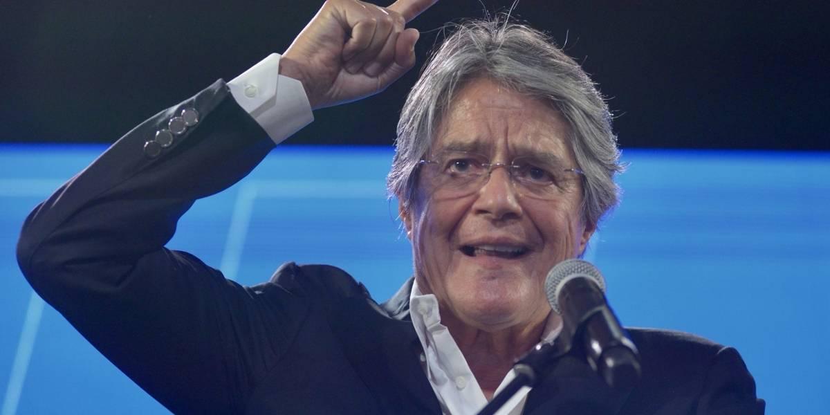 """Guillermo Lasso: """"No está decidido quién pasa a la segunda vuelta"""""""
