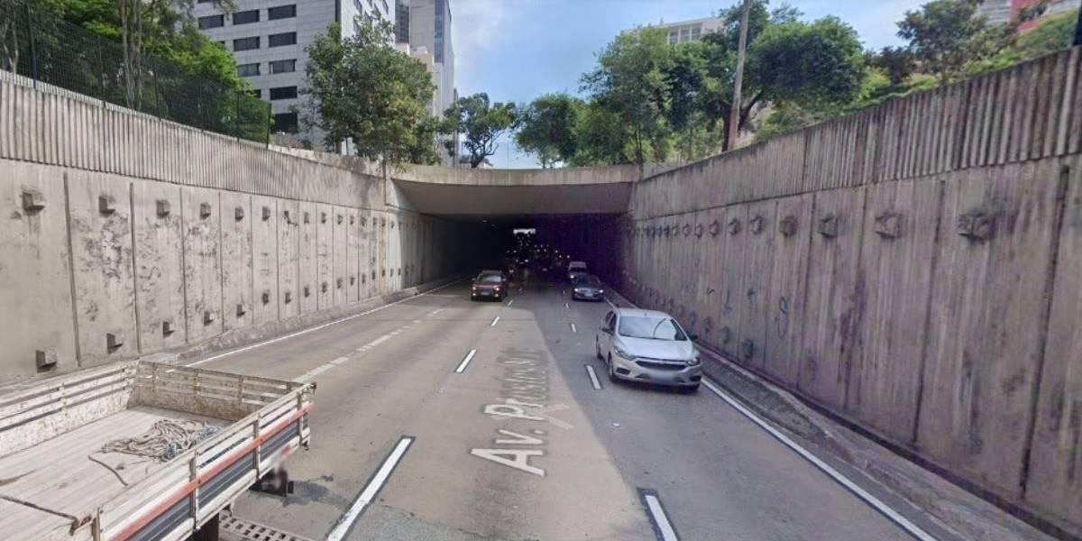 Túnel no Centro de São Paulo será interditado para manutenção