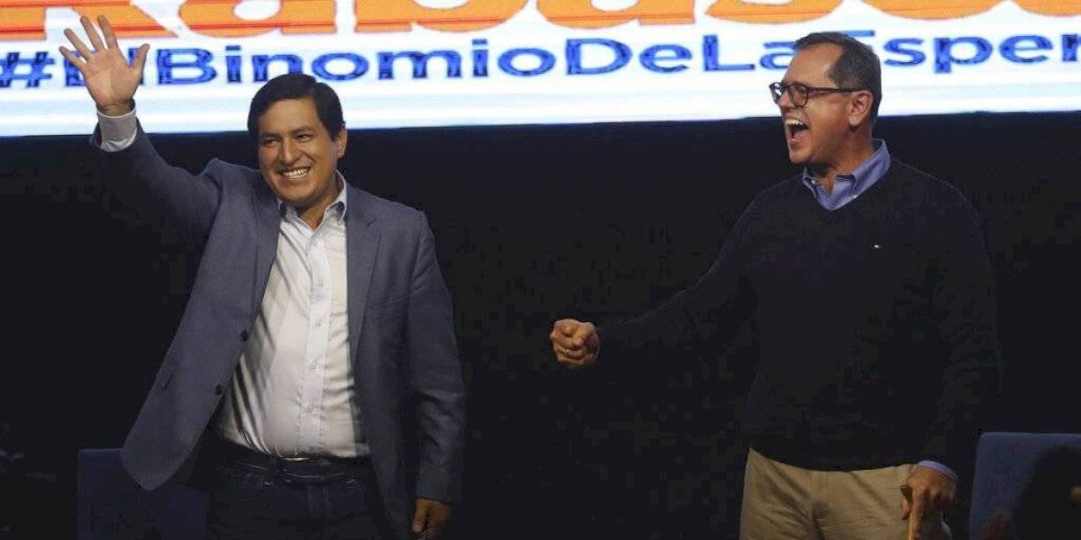 Incertidumbre en Ecuador sobre segundo lugar en elecciones presidenciales