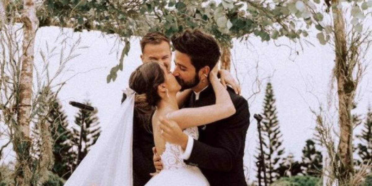 Ricardo Montaner está feliz por el primer año de casados de Evaluna y Camilo