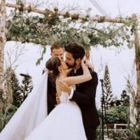 Ricardo Montaner está feliz por el primer año de casados de Eva luna y Camilo