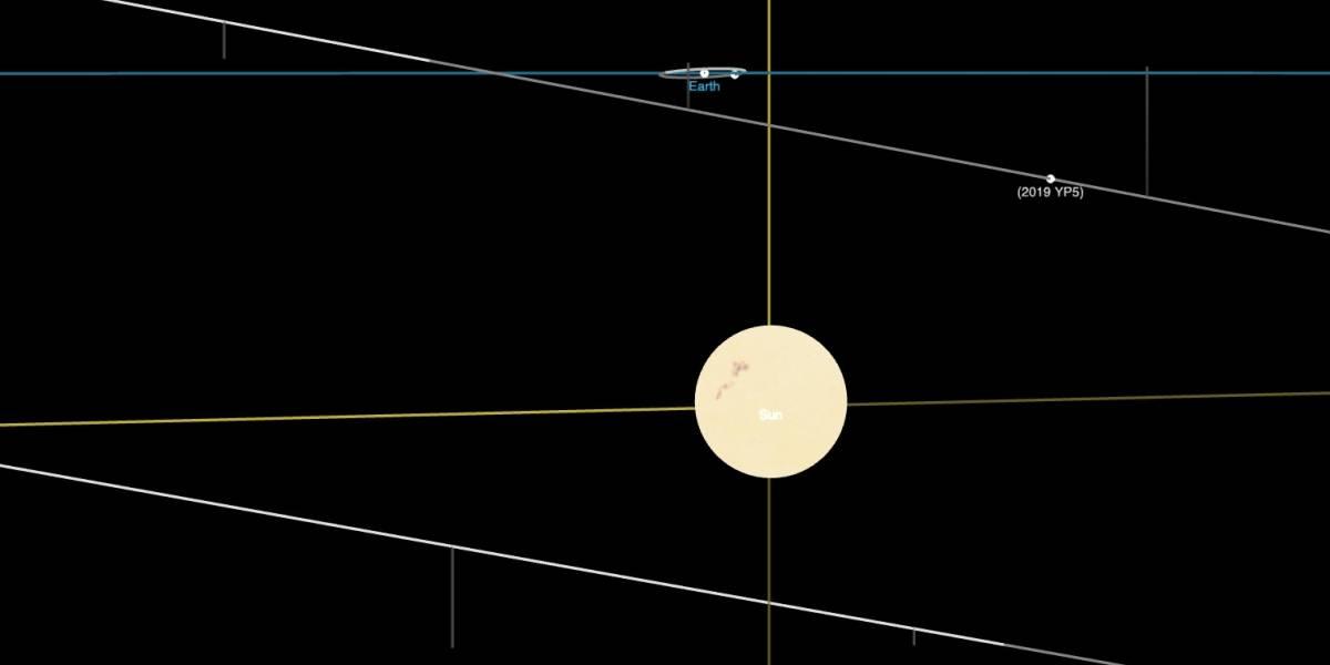 Alerta sobre asteroide que passará próximo à Terra nesta quarta-feira (10)