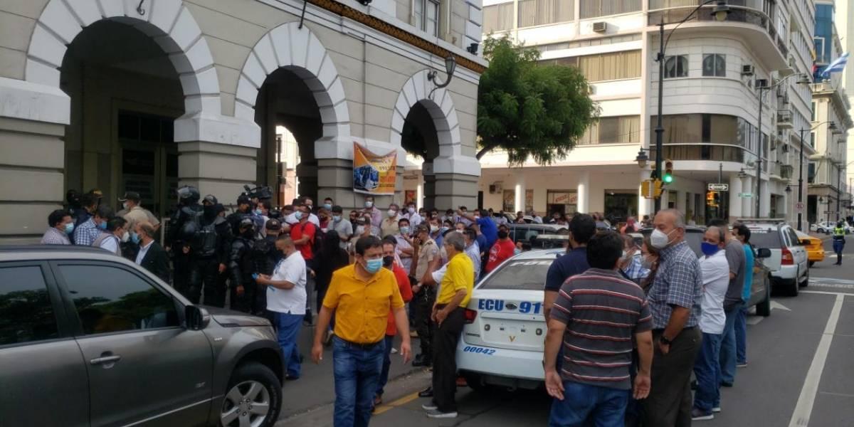 Gerente de la ATM se pronuncia ante suspensión parcial del servicio de buses urbanos en Guayaquil