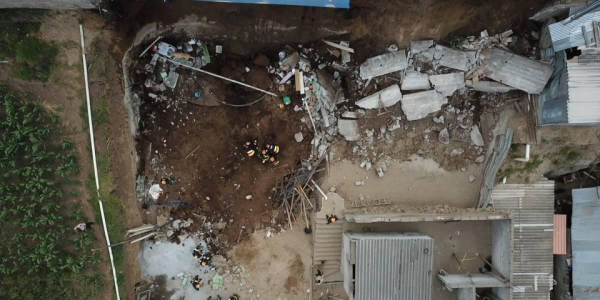 ACTUALIZACIÓN: Un fallecido tras colapso estructural en el sector de La Bota, al norte de Quito