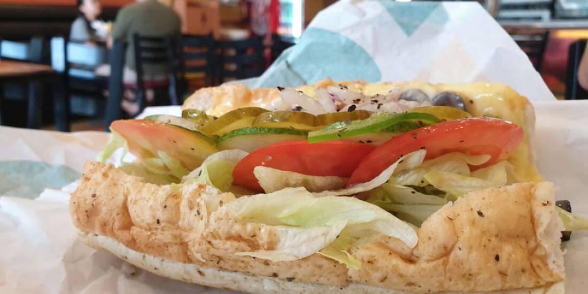 Ação judicial alega que sanduíche de atum do Subway não contém atum