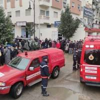 25 obreros murieron, posiblemente electrocutados, en un taller textil clandestino en Marruecos