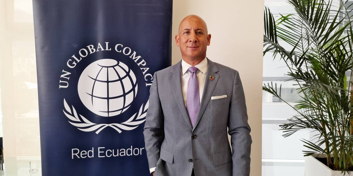 Pacto Global Red Ecuador designa a Julio Moreno como su nuevo presidente