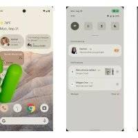 Android 12: esta sería la primera imagen que muestra su nueva interfaz