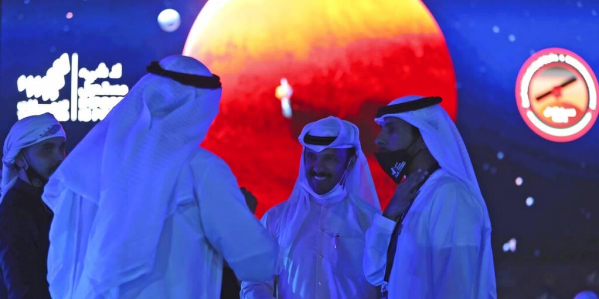 Primera sonda espacial árabe llega a la órbita de Marte