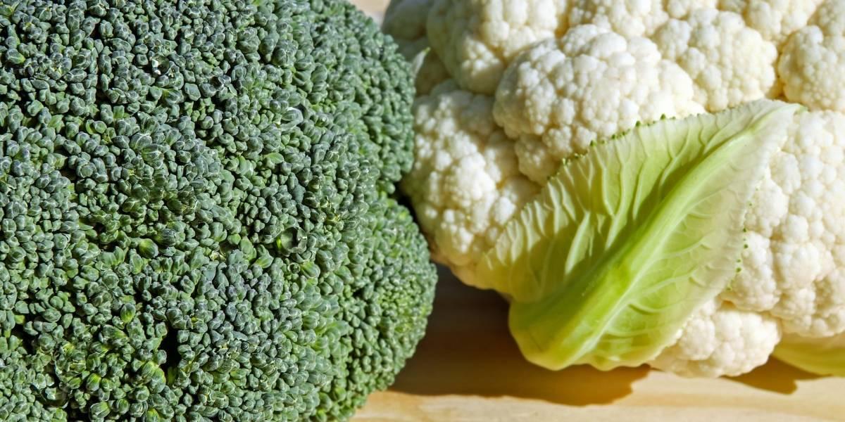 Cinco grandes cosas que diferencian al brócoli de la coliflor