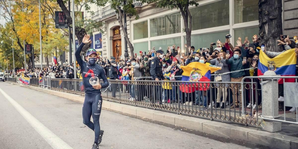 Richard Carapaz a la espera de conocer  el recorrido de La Vuelta España 2021