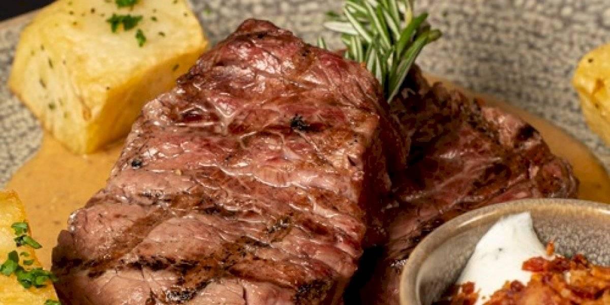 En estas terrazas podrás disfrutar de un buen corte de carne