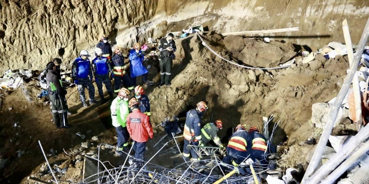 Construcción colapsada en La Bota no contaba con ningún permiso; hay cuatro fallecidos